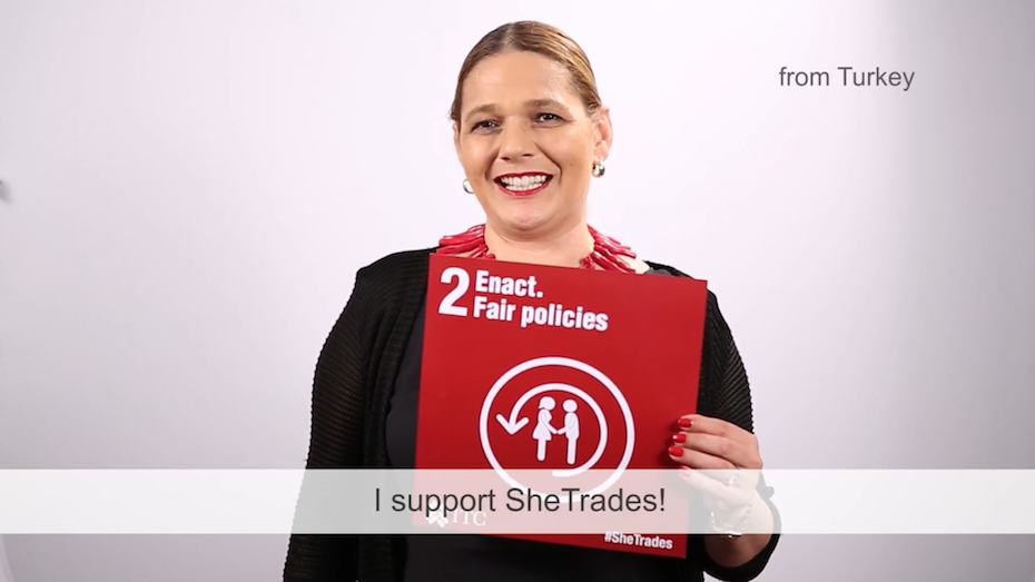 How do you support #SheTrades?